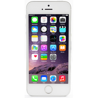 SMARTFONY Apple IPHONE 5S (16GB) SREBRNY